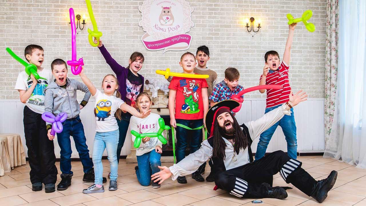 Детское кафе Хомяк в СПб - ВИП праздник, день рождения, свадьба