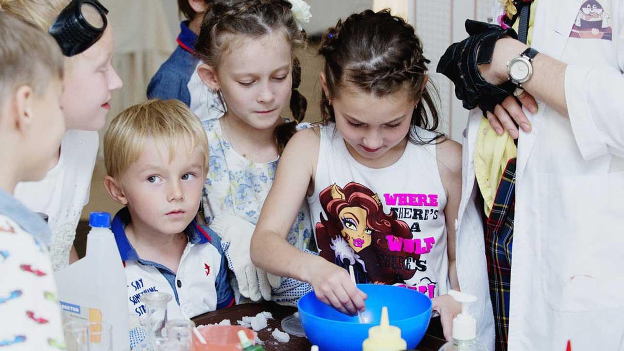 Детское кафе в СПб - день рождения, праздники от Хомяка